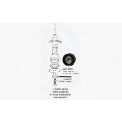 SIRIO Turbo1000 AZUL + 4m RG58