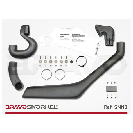 Snorkel Bravo Nissan Terrano 2
